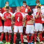 Denmark's Christian Eriksen stable after collapsing two weeks after having vaccine